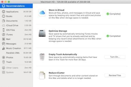 Delete storage