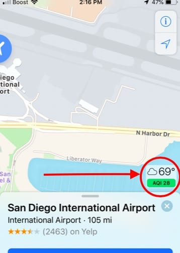 How To Check Air Quality on your iPhone in Maps and Weather
