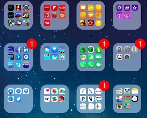 This Special Unicode Character Can Make Your iOS Folders Invisible