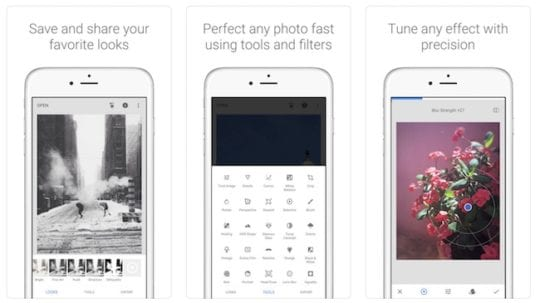 Instagram Apps - Snapseed