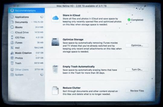 iphone ipad storage