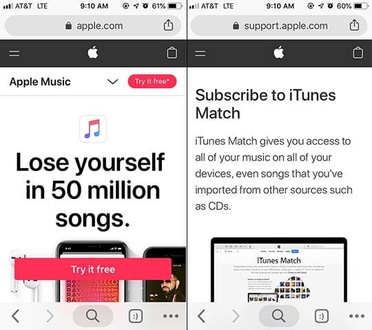 Apple Music Tips - iTunes Match