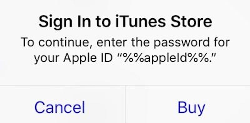 apple id bug