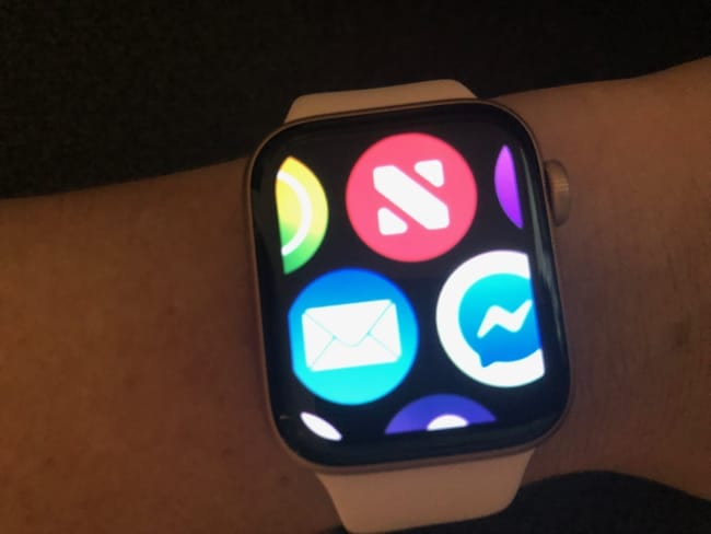 Apple Watch Zoomed in