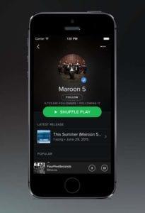CarPlay Apps - Spotify