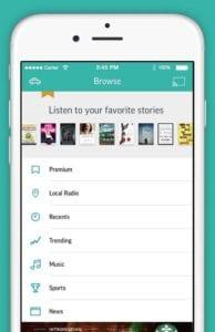 CarPlay Apps - TuneIn Radio