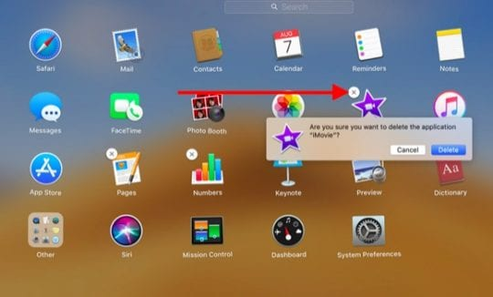 Delete Apps tagged for Adopt in MacBook
