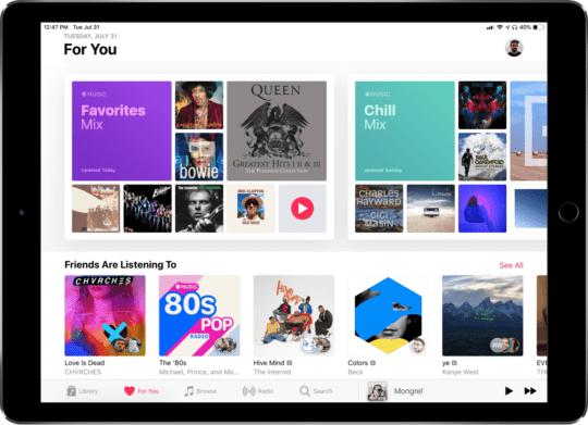 Fresh Shuffle Apple Music