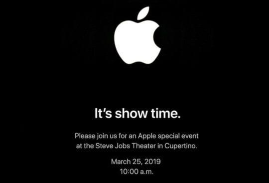 Apple subscription services launch event