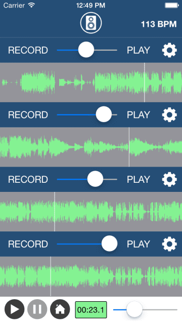 Multi-Track Song Recorder