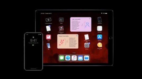 iPad Pro Wishlist - Dark Mode