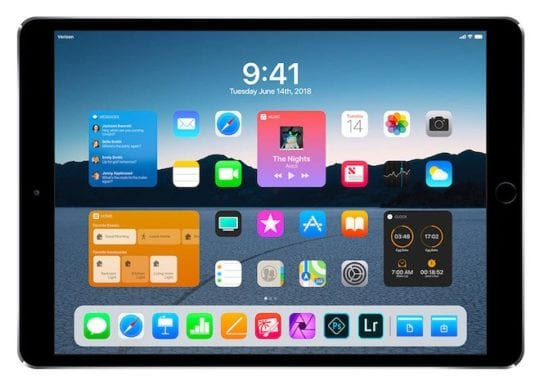 iPad Pro Wishlist - Redesigned Home