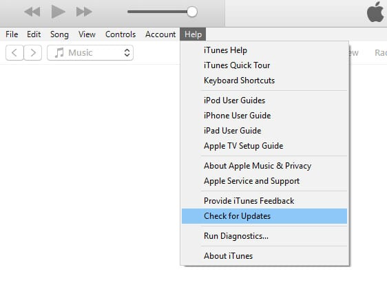 Check for iTunes update when downloaded directly from Apple