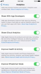 Apple Analytics