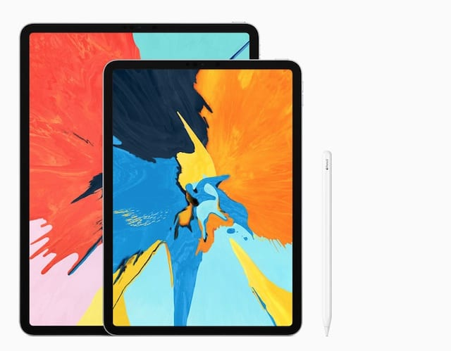 iPad Pro 12.9-inch and iPad Pro 11-inch with Apple Pencil 2.