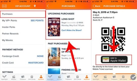 How to share Wallet passes
