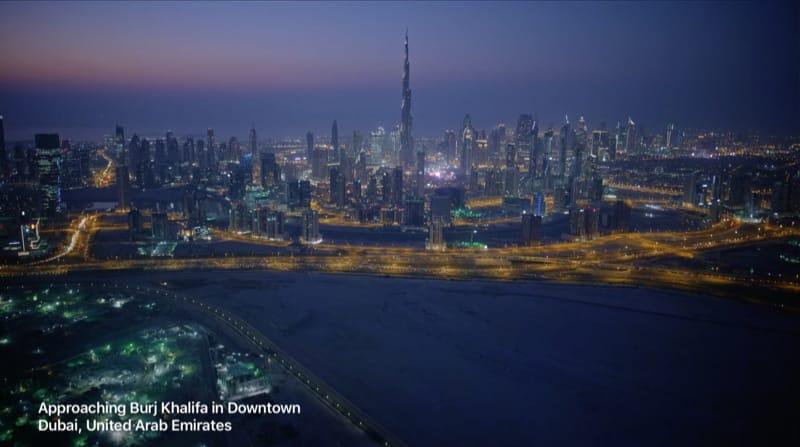 Dubai Apple TV Aerial ScreenSaver