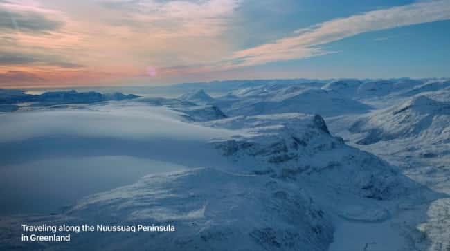 Greenland Apple TV Aerial ScreenSaver