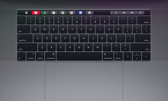 Touch Bar tips for MacBook Pro