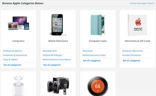 Online Retailers for buying apple device without sales tax