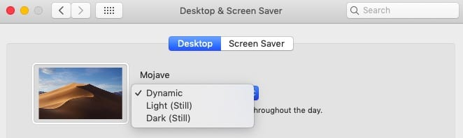 Change Lock Screen background in macOS Mojave