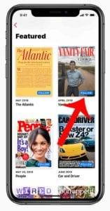Apple News+ iOS 12.3