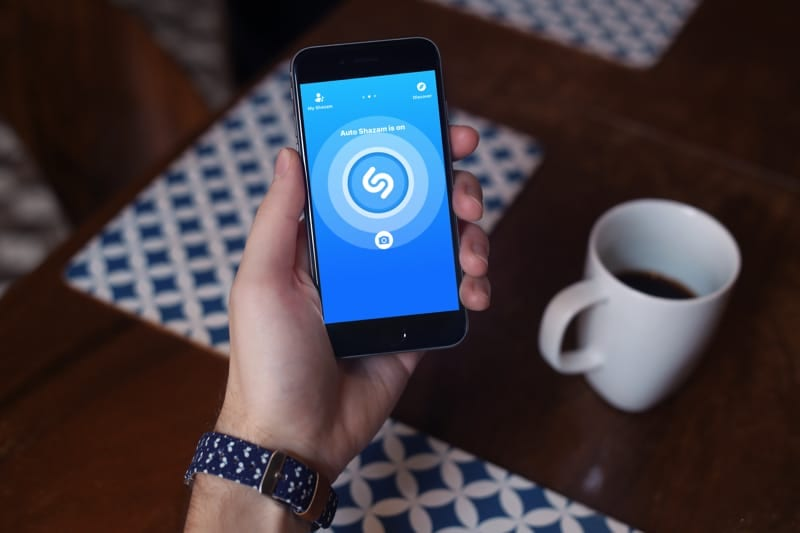 Auto Shazam Enabled on iPhone