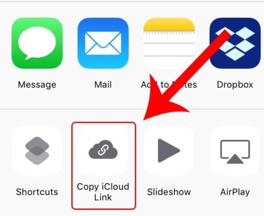 Blurry Images - iCloud Photo Link