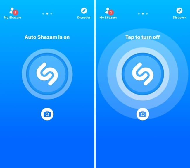 Turn Off Auto Shazam in the App