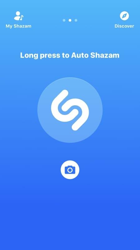 Enable Auto Shazam within the app