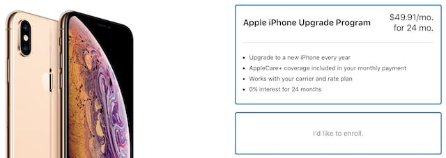 a04c47a6d Select the iPhone Upgrade Program from your payment options wherever you  buy from Apple.