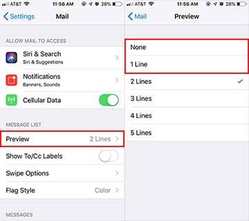 Apple Mail Tips - Larger Inbox