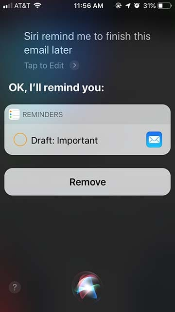 Mail Tips - Siri for Mail