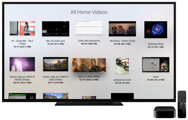 VLC Videos On Apple TV