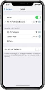 WiFi Password Not working with iPhone or iPad, Fix