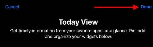 Complete customizing iPadOS Widgets