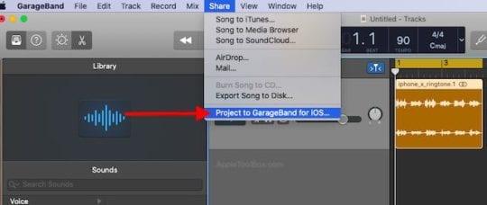 How to transfer Custom RingTones from macOS Catalina to