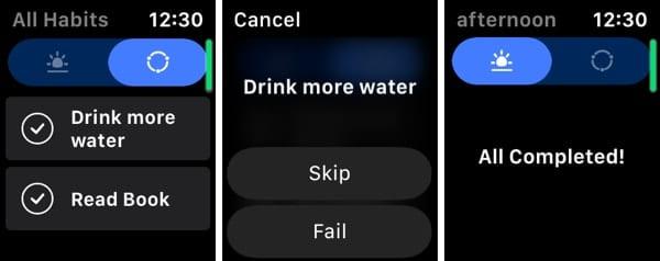 Habitify on Apple Watch