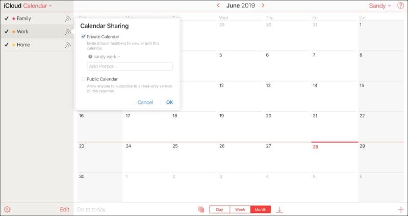 Icloud Calendar.How To Share Your Icloud Calendar On Mac Ios And Icloud Com