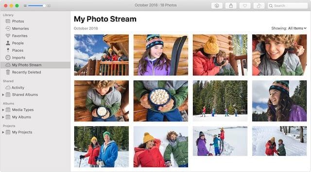 My Photo Stream on macOS