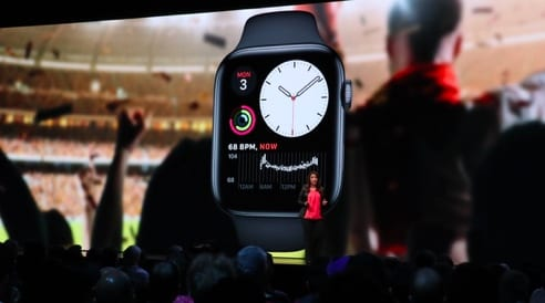 watchOS 6 Health and fitness