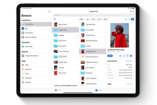 Rename Documents in Files app using iOS 13