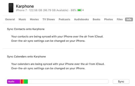 No iTunes, How to sync iPhone