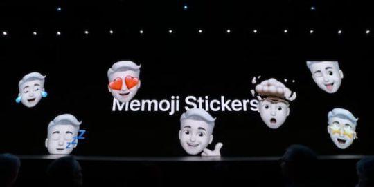 iOS 13 - Memoji Stickers