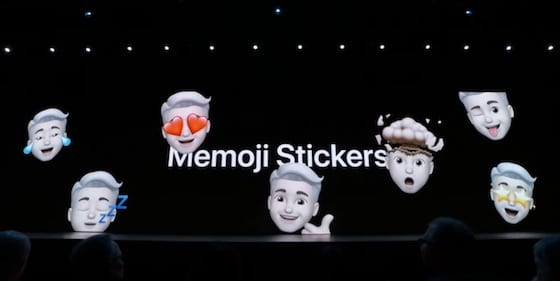iOS 13 - Memoji Stickers