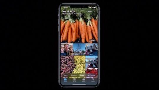 iOS 13 Photos - Browsing