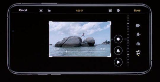 iOS 13 Photos - Video Editing