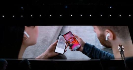 iOS 13 - Share AirPods Audio