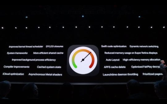 iOS 13 - Speed