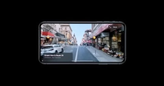 iOS 13 - Street View